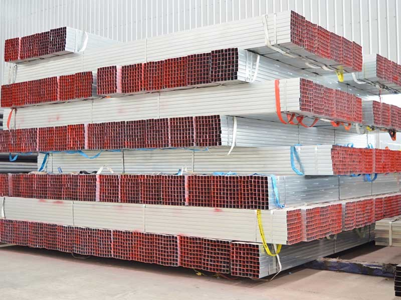 Hot Sell Q235 Pre-galvanized Square and Rectangular pipe