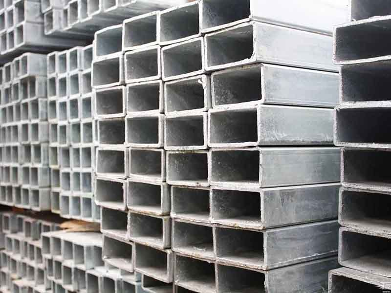 Hot dipped galvanized square/rectangular tube