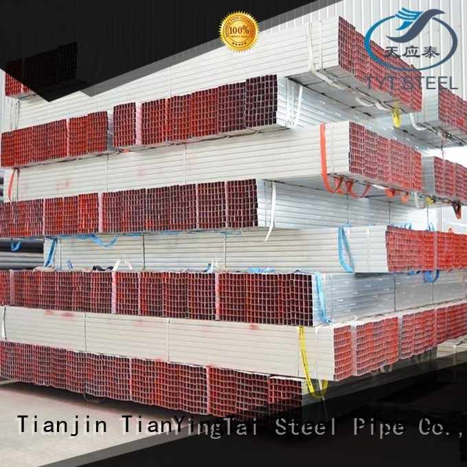 TYT metal gi steel pipe wholesale for gasoline and oil lines