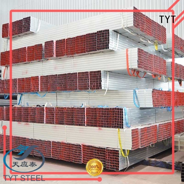 TYT high quality pre galvanized pipes directly sale for use