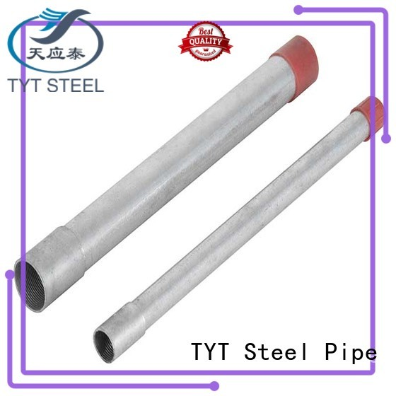 TYT top rated threaded steel pipe company for Construction Structure