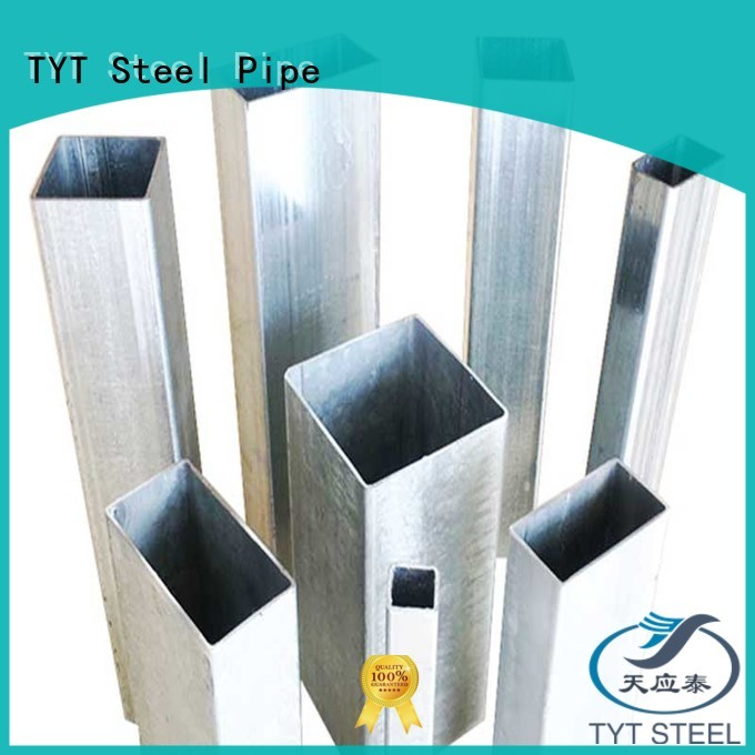 TYT hollow steel pipe company for greenhouse