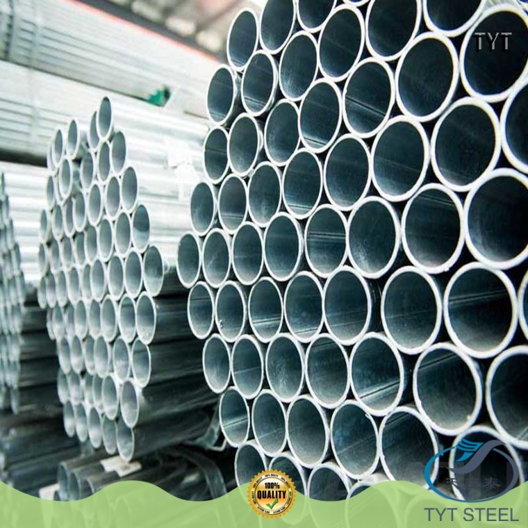 TYT pre galvanized pipes series for industr