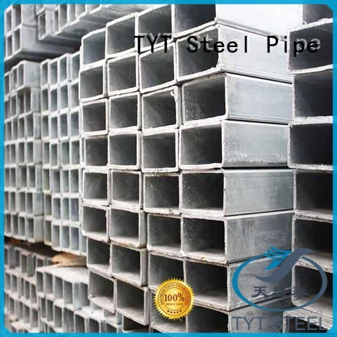 TYT high quality galvanized pipe factory for building