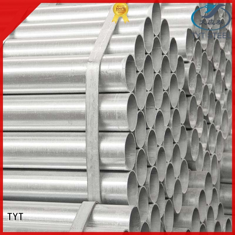 TYT hot dip galvanized steel pipe best manufacturer bulk production