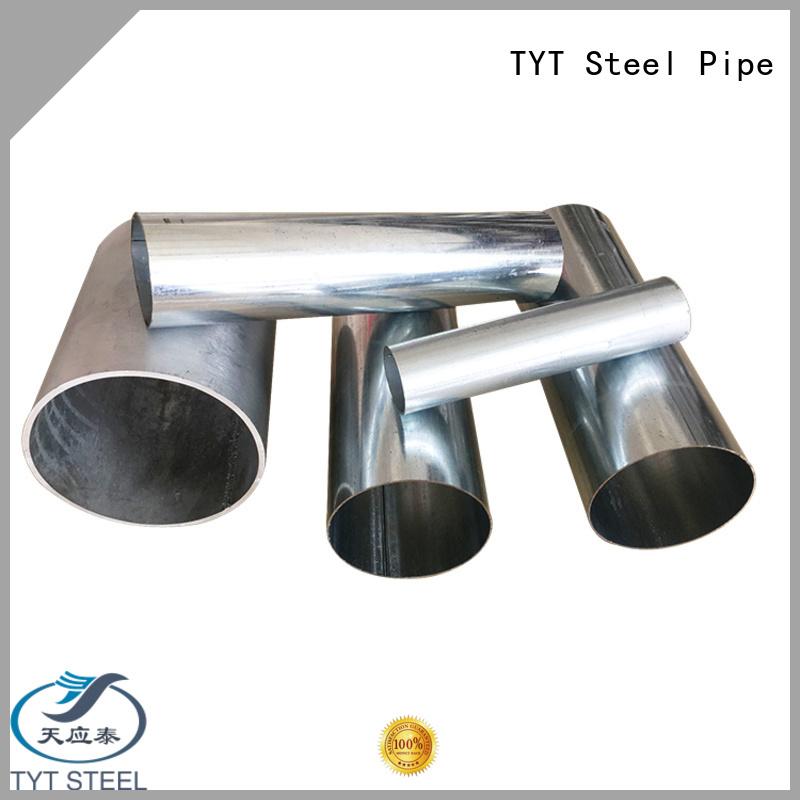 TYT galvanised steel square tube company bulk production