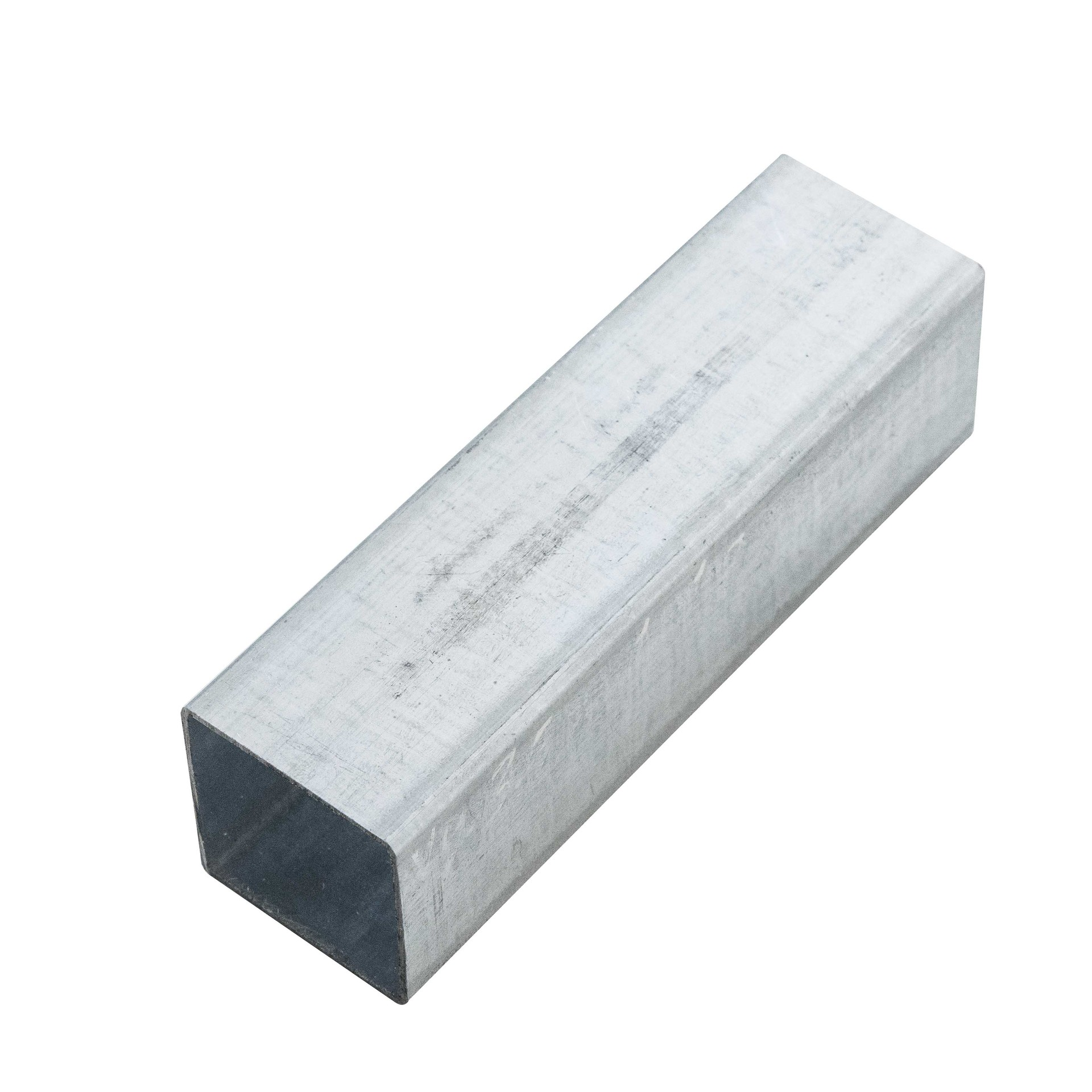 Tianjin manufacturer pre galvanized square and rectangular steel pipe