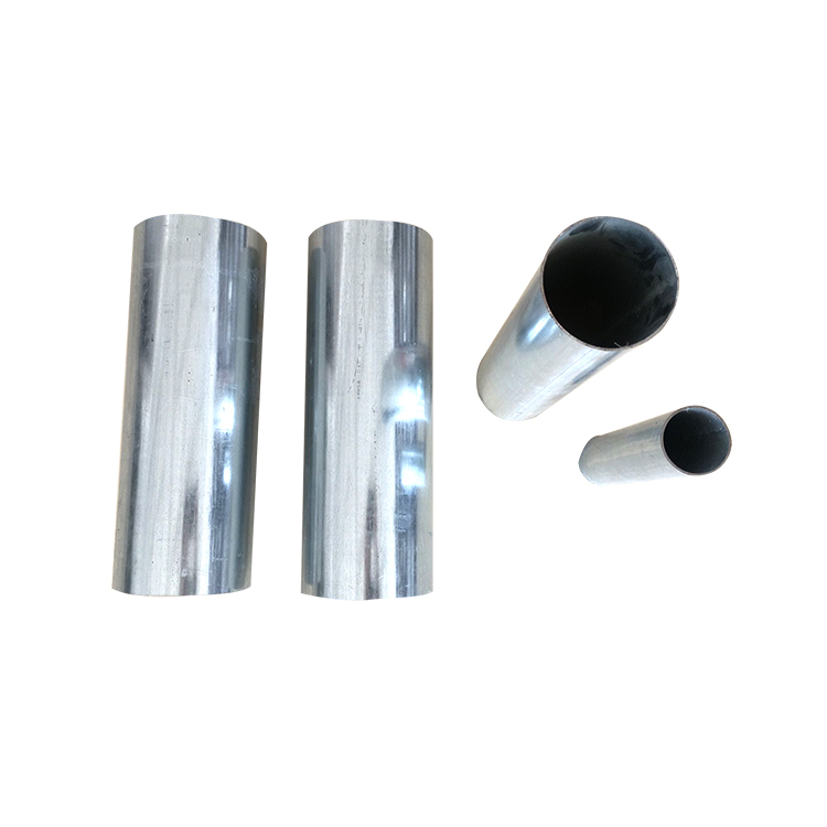 Construction material of 50mm galvanized round steel pipe