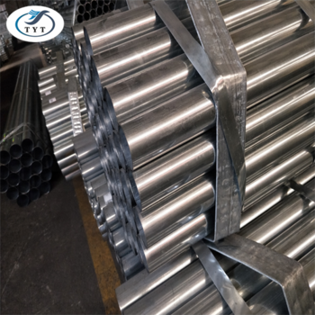 50mm Galvanized Round Steel Pipe for Construction and installation