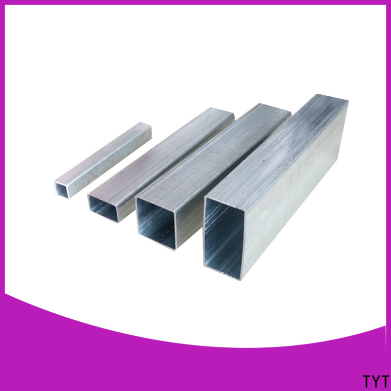 TYT cost-effective galvanised steel square tube best manufacturer for use