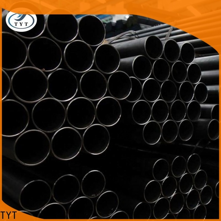 top black round pipe directly sale for sale