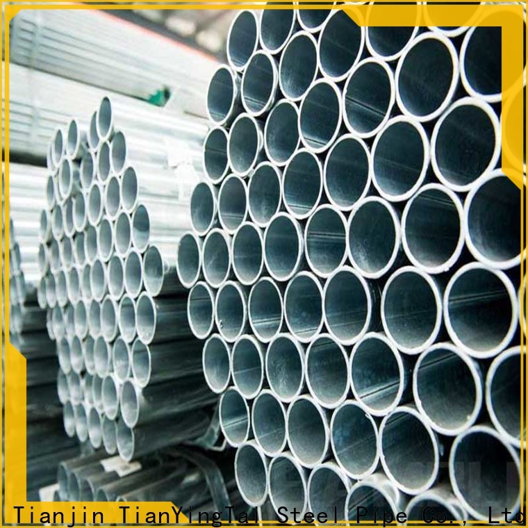 TYT top quality round steel pipe wholesale for gasoline and oil lines