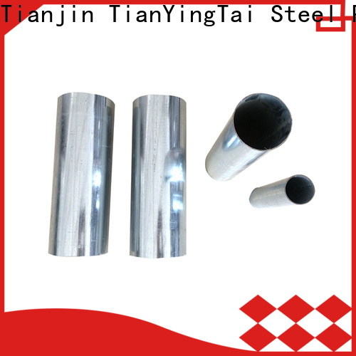 TYT top galvanized round pipe company for promotion