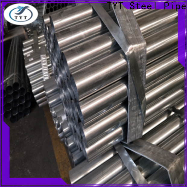 TYT popular round steel pipe best manufacturer for gasoline and oil lines