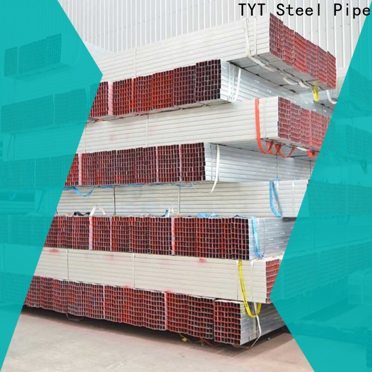 TYT galvanised steel square tube series for use