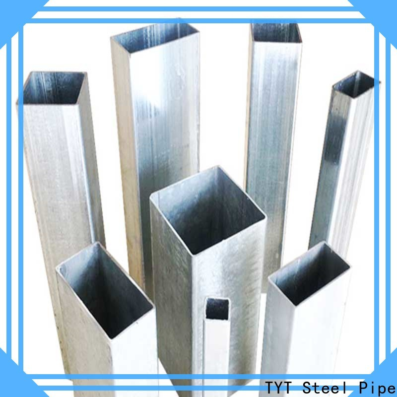 TYT hollow steel pipe suppliers bulk production