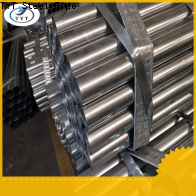 top rated pre galvanized square tubing wholesale for gasoline and oil lines