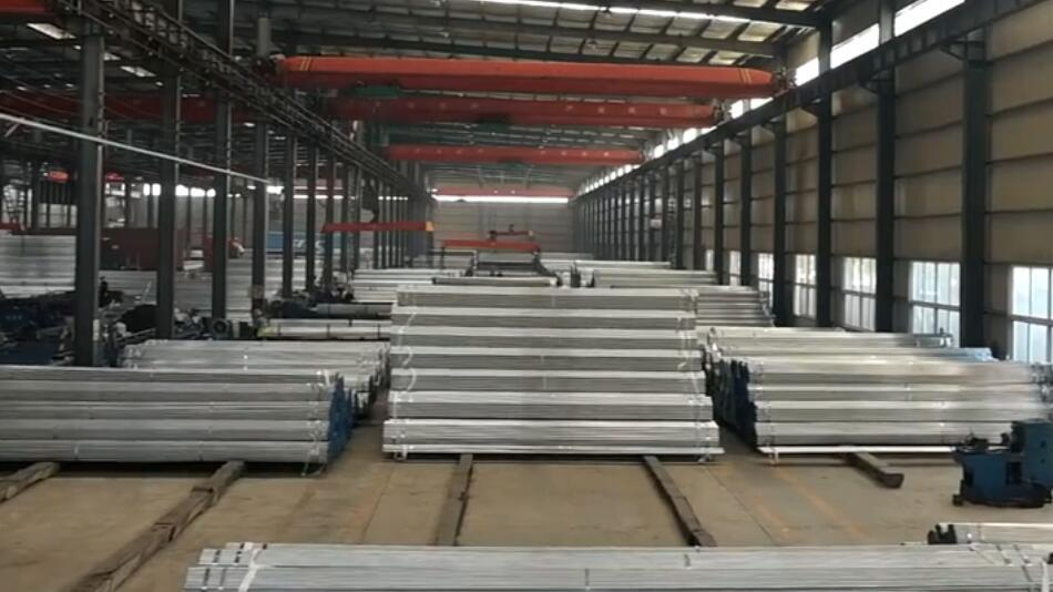 Tianyingtai Professionally Engaged in Galvanized Steel Pipe Production