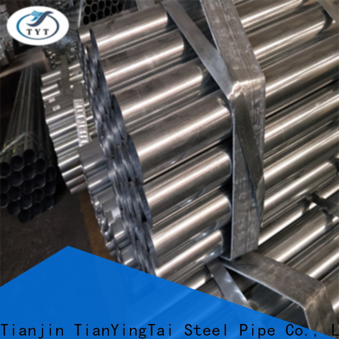 TYT top rated pre galvanized square tubing from China for gasoline and oil lines