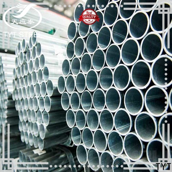 TYT quality galvanized square pipe with good price for greenhouse