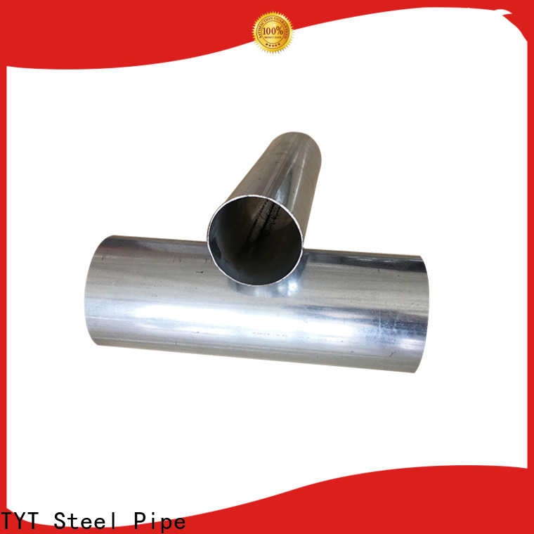 TYT best galvanized round pipe supply for use