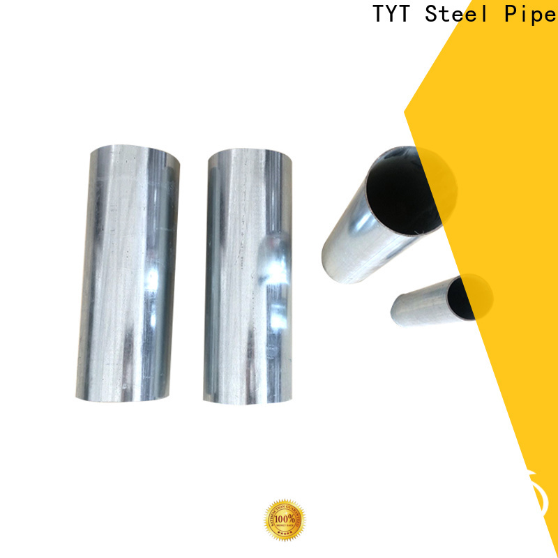 TYT popular gi round pipe factory direct supply for use