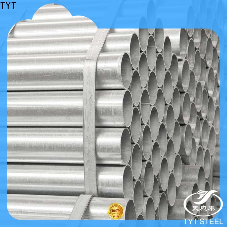 TYT hot galvanized steel pipe suppliers bulk production