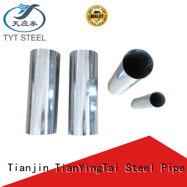 TYT durable galvanized square pipe series for industry