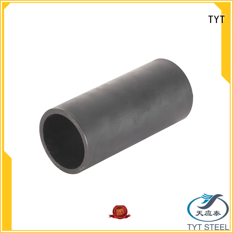TYT black round pipe factory direct supply for sale