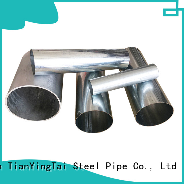 TYT pre galvanised steel tube best supplier for gasoline and oil lines