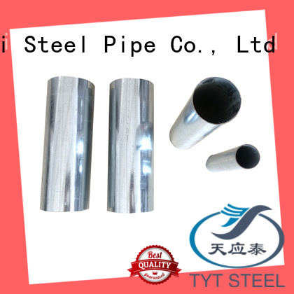 TYT best galvanized steel square pipe supplier bulk production