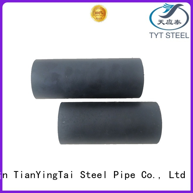 TYT high quality black pipe with good price bulk production
