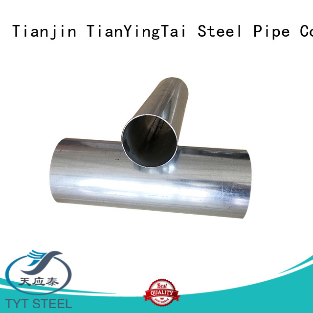 TYT cost-effective galvanized round pipe company for use