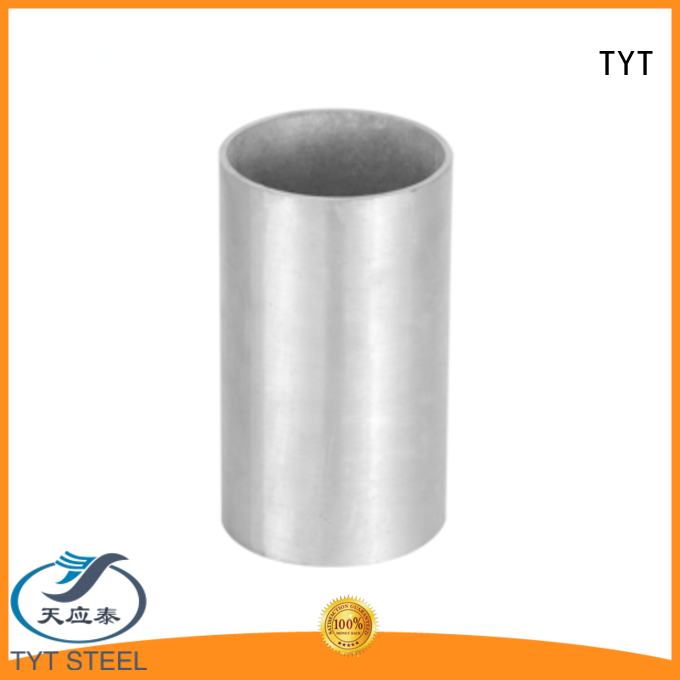 TYT metal hot dipped galvanized pipe factory bulk production
